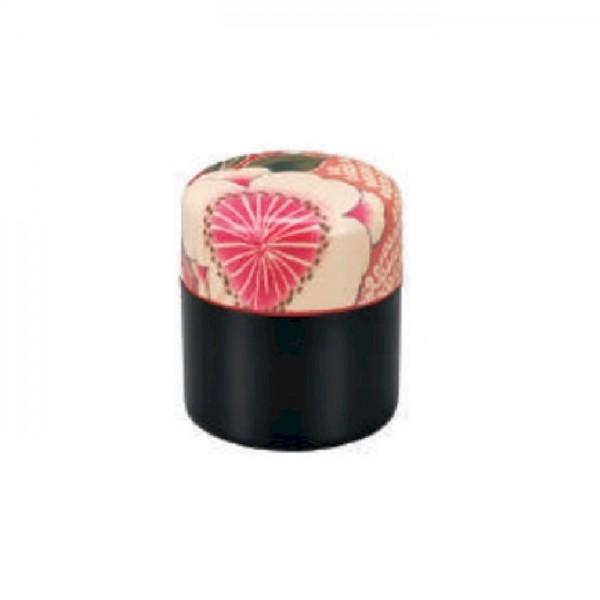 Boîte à thé multifleurs moyenne rose  380ml 36547