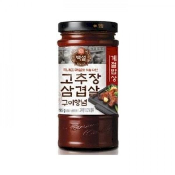 Sauce épices grilled pour Porc CJ Kr 500g X (12)