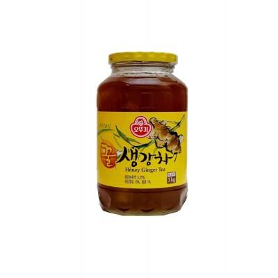 The gingembre au miel...