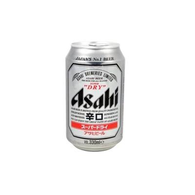 Asahi super dry en canette...