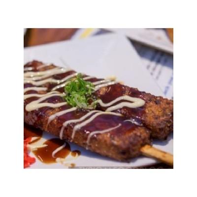 Brochette Okonomiyaki crêpe...