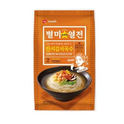 Nouilles au Kimchi avec...