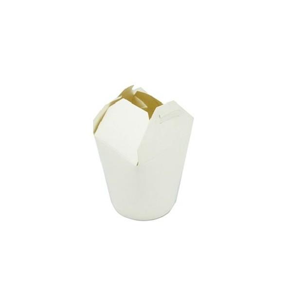 Pot carton à pâte blanc 780 cc 50p X (10)