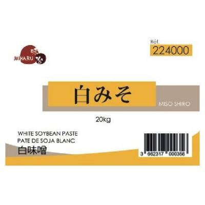 X Shiro miso pâte de soja...