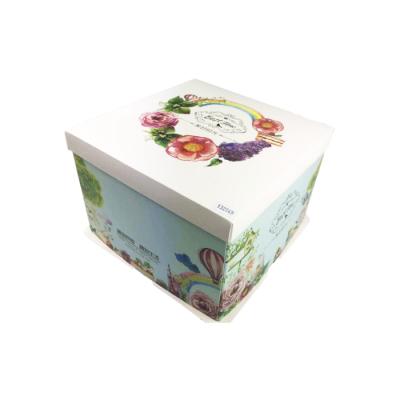 Boîte Patissière 26x26x18, 50p