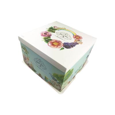Boîte Patissière 30x30x18, 50p