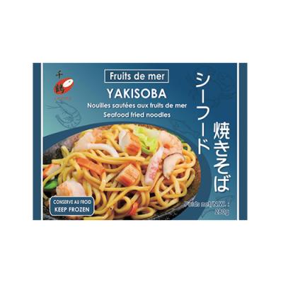 Yakisoba fruits de mer en...