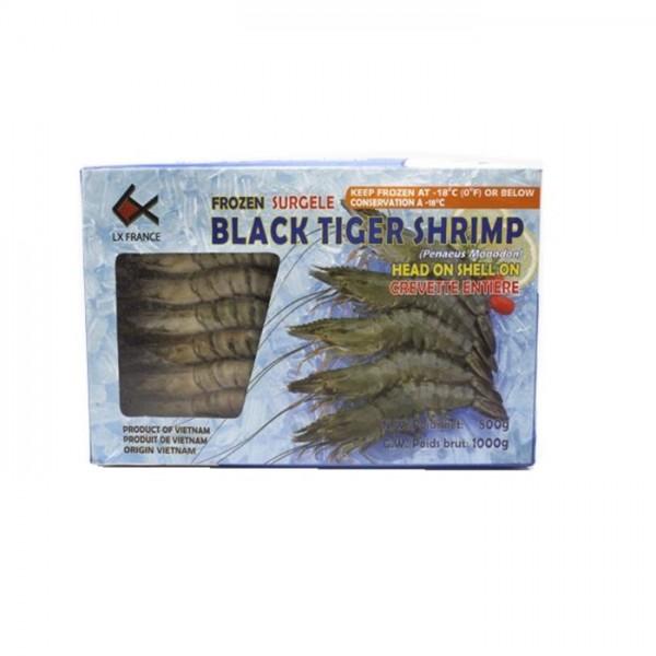 Crevettes BT s/tête s/carapace 70% 16-20 net 1.26kg*6paquets