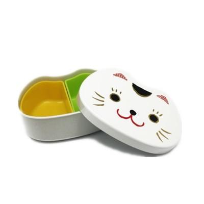 Bento chat blanc visage...